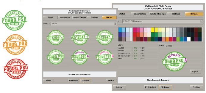 Caldera Print Standard Verifier screenshoot