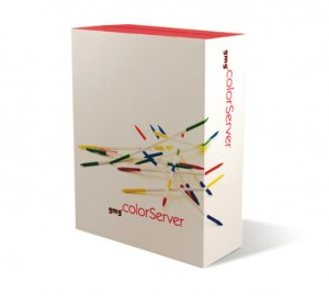 GMG ColorServer packaging