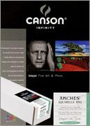 Papier CANSON Arches Aquarelle Rag