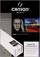 Papier CANSON Baryta Photographique