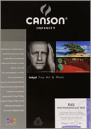 Papier CANSON Rag Photographique Duo