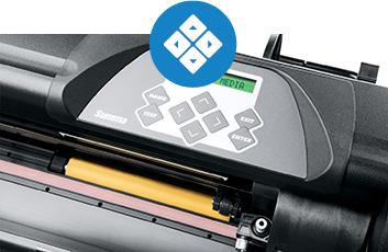SummaCut D60 RFX - Panneau de contrôle