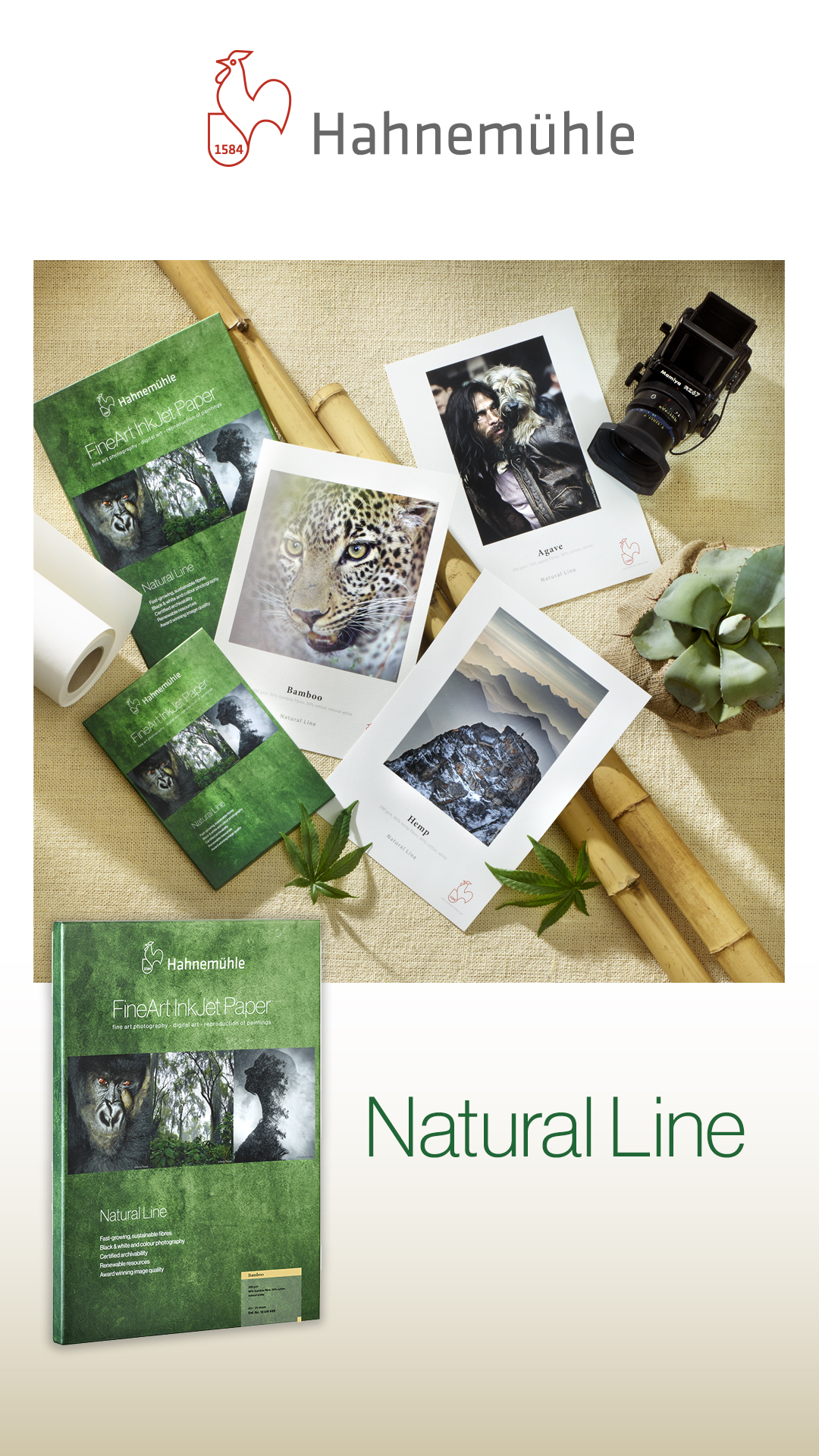 Hahnemuhle natural line